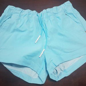 Lululemon Play All Day Shorts - Blue
